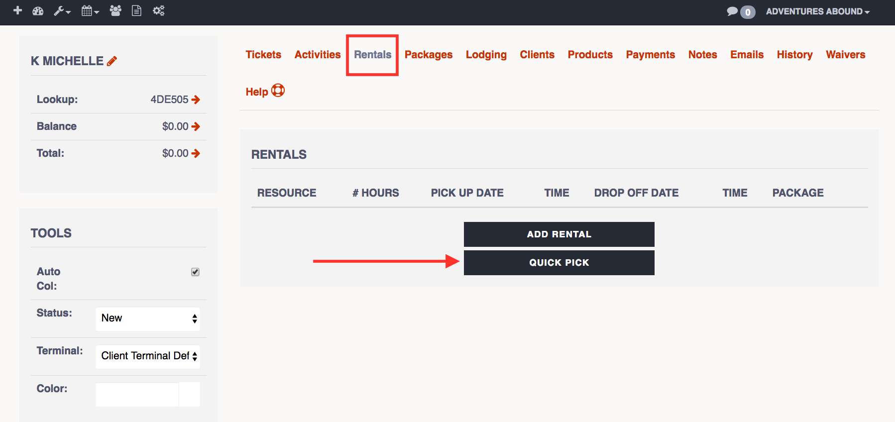 Book A Rental With Quick Pick The Flybook - Can-pick-the-book-quick