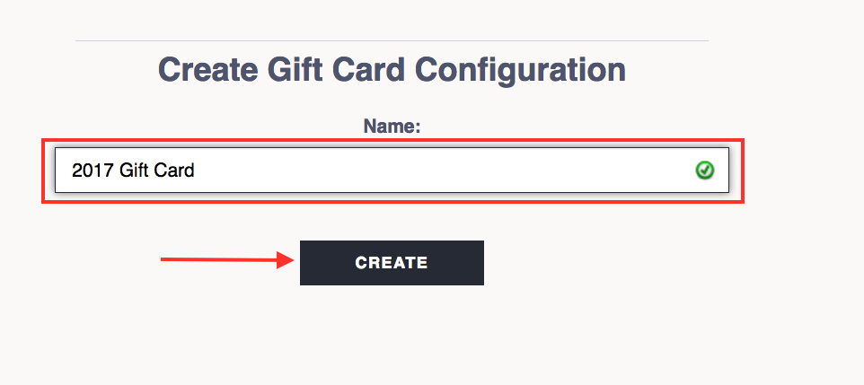 gift card creating a gift card the flybook